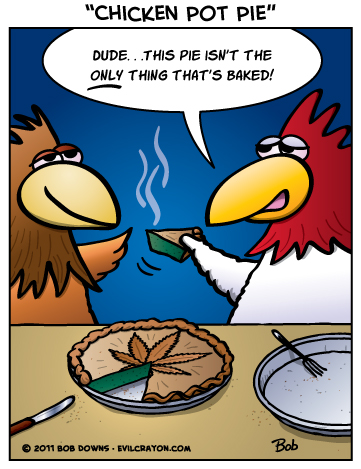 evilcrayon.com - Chicken Pot Pie