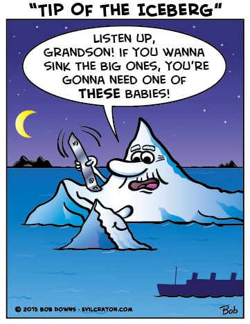"""Tip Of The Iceberg"" by Evil Crayon"