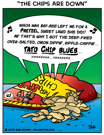 """""""The Chips Are Down"""" by Evil Crayon"""