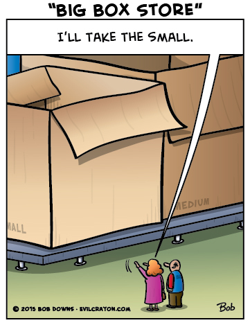 """Big Box Store"" by Evil Crayon"