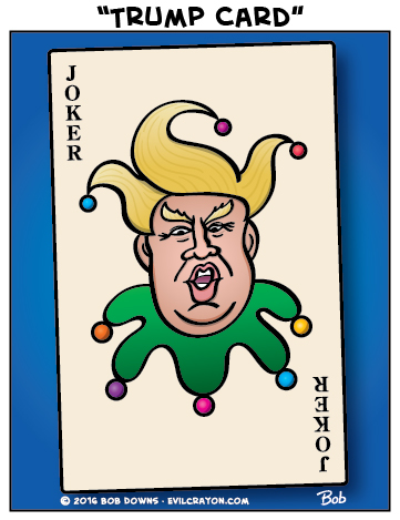 """Trump Card"" by Evil Crayon"
