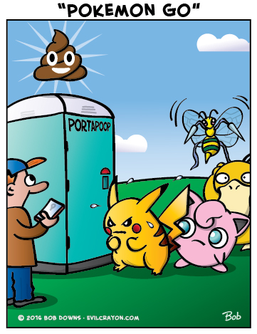 """Pokemon Go"" by Evil Crayon"