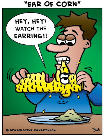 """Ear Of Corn"" by Evil Crayon"