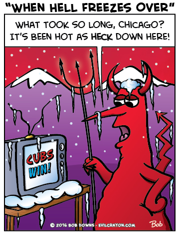 """When Hell Freezes Over"" by Evil Crayon"