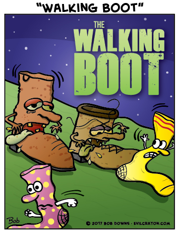 """Walking Boot"" by Evil Crayon"