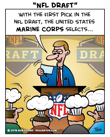 """NFL Draft"" by Evil Crayon"