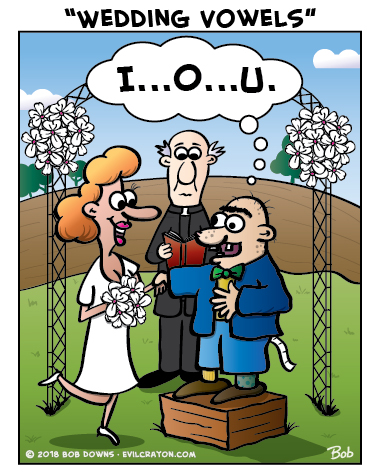 """Wedding Vowels"" by Evil Crayon"