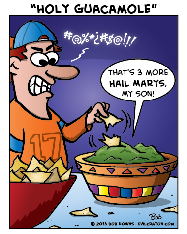 """""""Holy Guacamole"""" by Evil Crayon"""