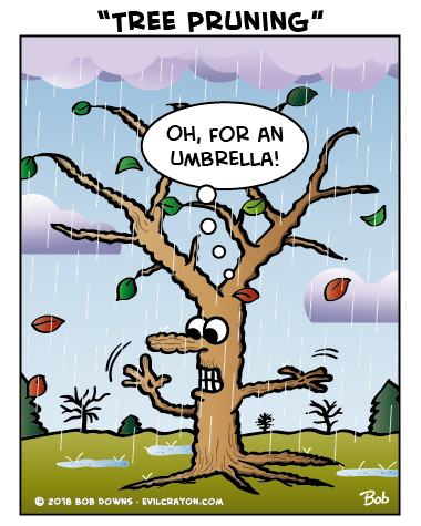 """Tree Pruning"" by Evil Crayon"