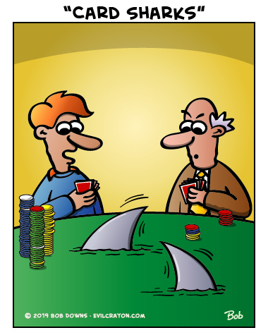 """Card Sharks"" by Evil Crayon"