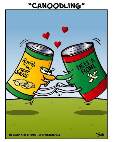 """""""Canoodling"""" by Evil Crayon"""