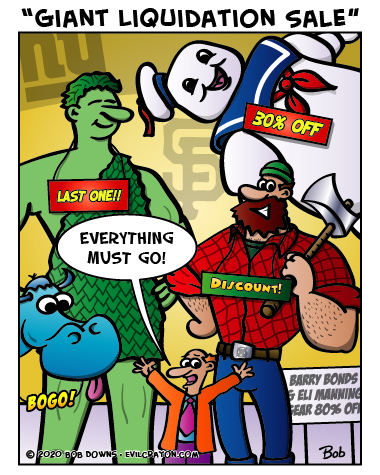 """Giant Liquidation Sale"" by Evil Crayon"