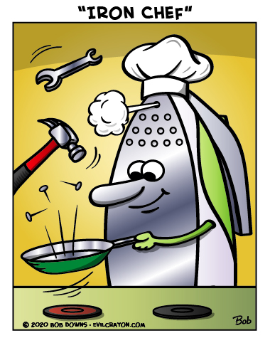"""Iron Chef"" by Evil Crayon"