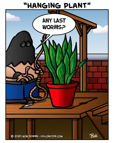 """""""Hanging Plant"""" by Evil Crayon"""