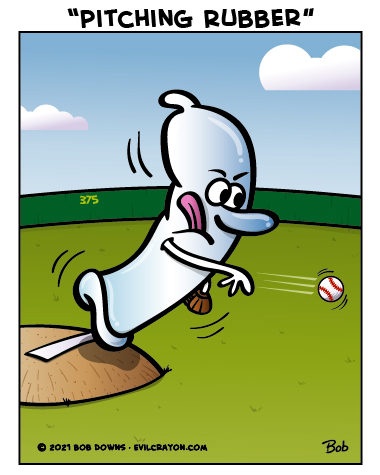 """""""Pitching Rubber"""" by Evil Crayon"""