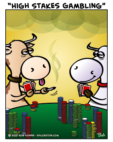 """""""High Stakes Gambling"""" by Evil Crayon"""