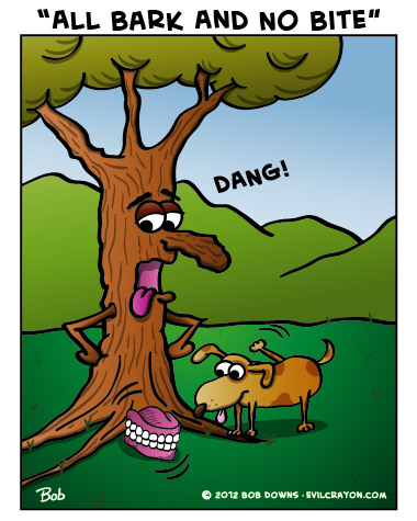 """""""All Bark And No Bite"""" by Evil Crayon"""