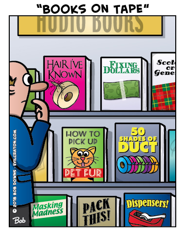 """""""Books On Tape"""" by Evil Crayon"""